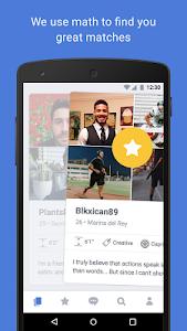 screenshot of OkCupid Dating version 8.1.3