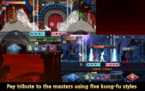 screenshot of One Finger Death Punch version 5.16
