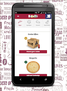 screenshot of Order Maestro Pizza version 2.7.4
