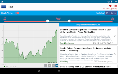 Download exchange rate & currency converter - Owl Currency 1.03780 APK