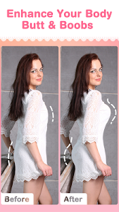 screenshot of Perfect Me - Body Shape Editor version 1.3