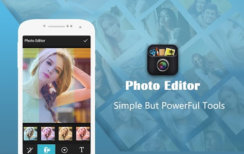 screenshot of Photo Editor Pro version 2.1.0