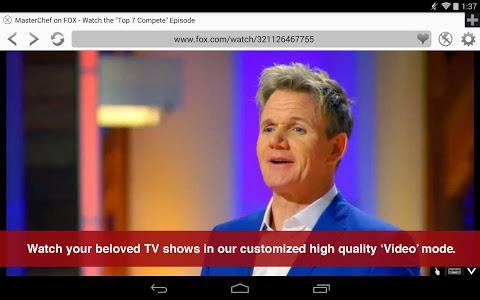 screenshot of Photon Flash Player & Browser version 5.3