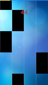 screenshot of Piano Tiles version 30.08.17