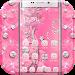 Download Pink Rose Diamond Theme 1.1.6 APK