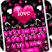 Download Pink girl love keyboard 10001013 APK