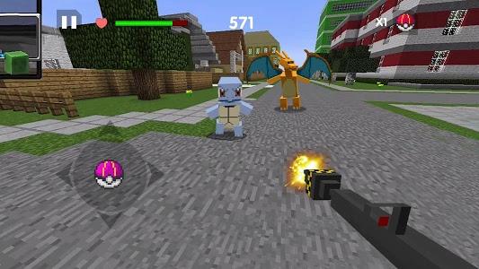 screenshot of PixelMod - Catch them all version 1.0