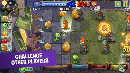 Download Plants vs Zombies 2 Free 6.9.1 APK