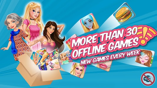 screenshot of Plippa offline girl games version 1.2