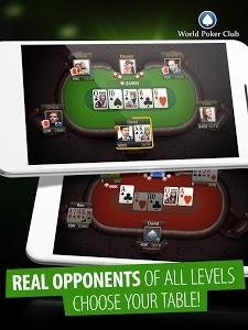 screenshot of Poker Games: World Poker Club version 1.117