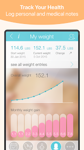 screenshot of Pregnancy + version 4.6.3