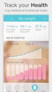 screenshot of Pregnancy + version 3.2.2