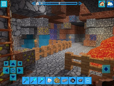 screenshot of PrimalCraft Survive with Minecraft Skins Exporter version 3.0.4