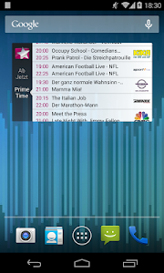 screenshot of Prime Guide TV Programm version 2.0.3