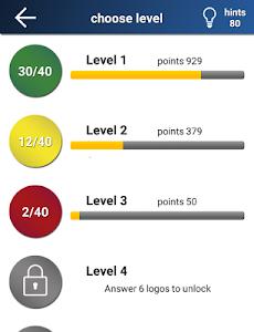 screenshot of Quiz: Logo game version 2.3.0