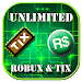 Download UNLIMITED Free Tix and R$ Simulator 1.0 APK