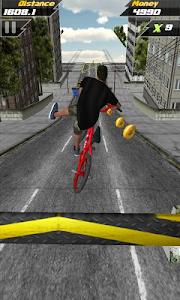 screenshot of SKATE vs BMX 3D version 15