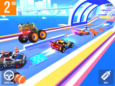 screenshot of SUP Multiplayer Racing version 1.2.8