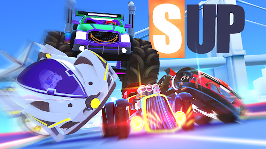 screenshot of SUP Multiplayer Racing version 1.9.2