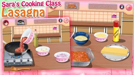 Download Sara's Cooking Class - Lasagna 1.0.2 APK