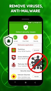 screenshot of Scan Virus - Free Antivirus - Virus Cleaner version 3.3