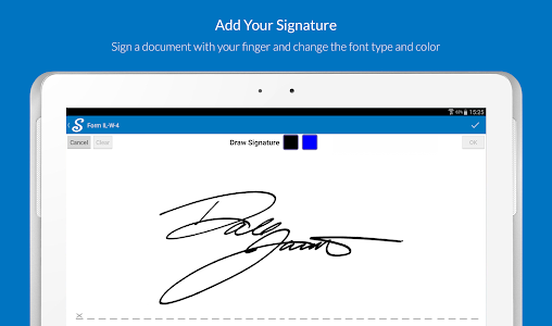 screenshot of SignNow - Sign and Fill Docs version 4.4.0