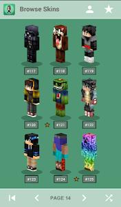 Download Skins for Minecraft PE 1.1 APK