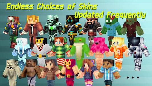 Download Skins for Minecraft Pocket Ed. 4.8 APK