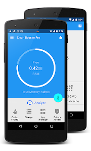 screenshot of Smart Booster - Free Cleaner version 7.2