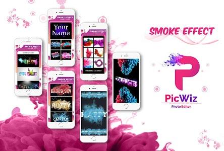 Download Smoke Effect Name Art - PicWiz 9.0 APK