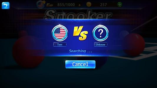 screenshot of Snooker version 4.7