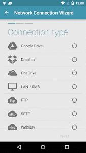 screenshot of Solid Explorer File Manager version 2.1.2