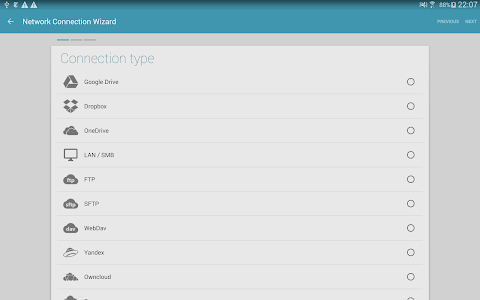 screenshot of Solid Explorer File Manager version 2.6.0