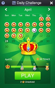 screenshot of Solitaire: Super Challenges version 2.7.5