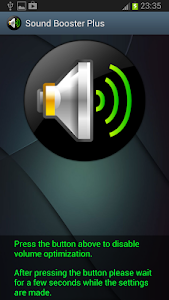 screenshot of Sound Booster version 1.14