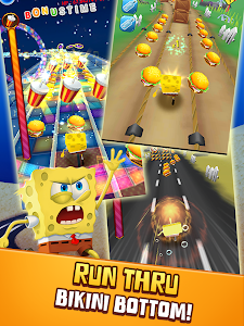 screenshot of SpongeBob Game Station version 4.9.0
