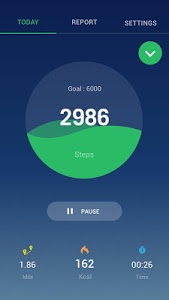 screenshot of Step Counter - Pedometer Free & Calorie Counter version 1.0.28