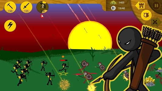 screenshot of Stick War: Legacy version 1.3.54