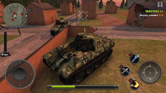 screenshot of Tanks of Battle: World War 2 version 1.32