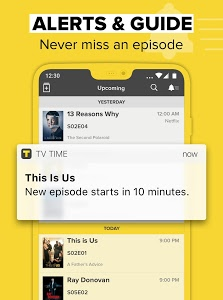 screenshot of TV Time - #1 Show Tracker version 4.15.13-18092701