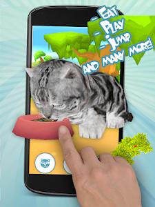 screenshot of Talking Cat Funny Kitten Sound version 3