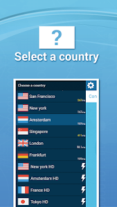 screenshot of TapVPN Free VPN for Android version 0.7