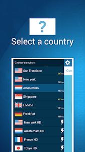 screenshot of TapVPN Free VPN version 0.7.65