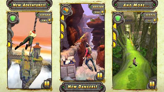 screenshot of Temple Run 2 version 1.53.1