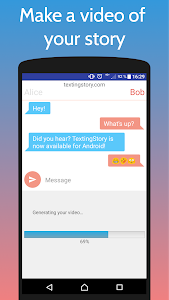 screenshot of TextingStory - Chat Story Maker version 1.4.4