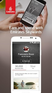screenshot of The Emirates App version 5.0.1