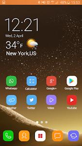 screenshot of Theme for Samsung S8 Edge version 1.1.1