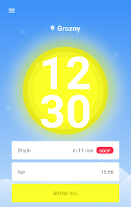screenshot of Time for Pray version Varies with device