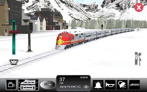 screenshot of Train Sim version 4.0.9
