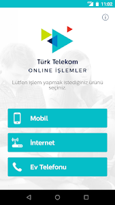 screenshot of Türk Telekom Online İşlemler version 6.6
